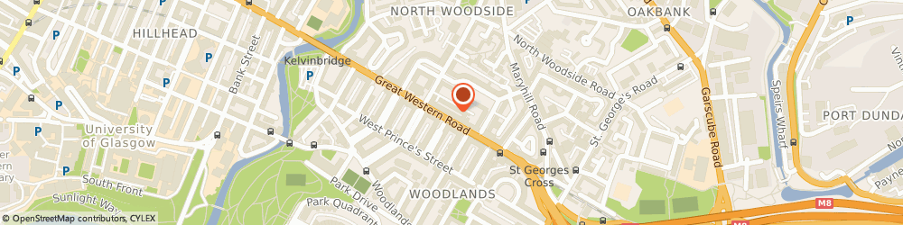 Route/map/directions to Machine Mart Glasgow, G4 9EJ Glasgow, 280 Great Western Road