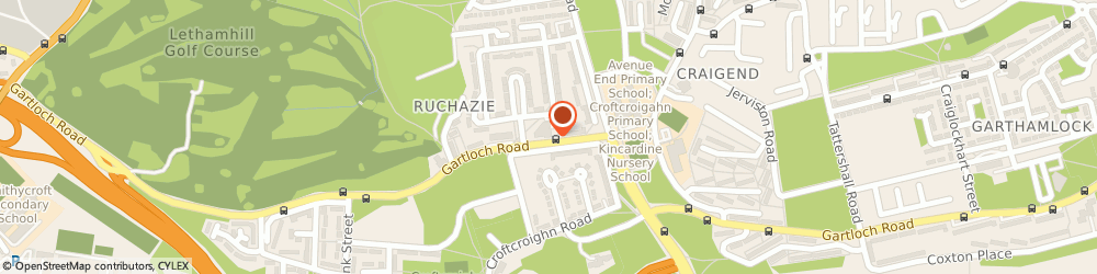 Route/map/directions to Bodycare, G34 9PQ Glasgow, 441 GARTLOCH ROAD