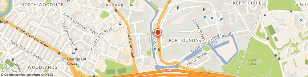 Route/map/directions to Scottish Pension Advisers, G4 9TJ Glasgow, Speirs Wharf
