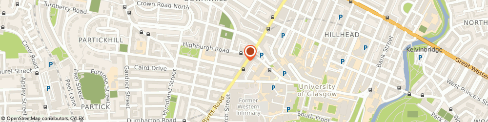 Route/map/directions to Oxfam Music Shop Byres Road, G12 8TS Glasgow, 171 Byres Road