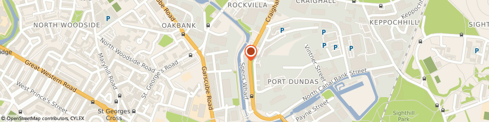 Route/map/directions to Esteem Limited, G4 9SS Glasgow, Suite 5, 6th Floor, The Whisky Bond, 2 Dawson Road