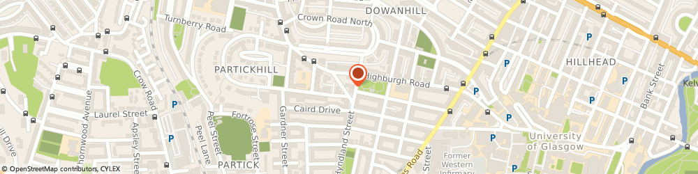 Route/map/directions to Cottiers, G11 5PU Glasgow, 93/95 Hyndland Street