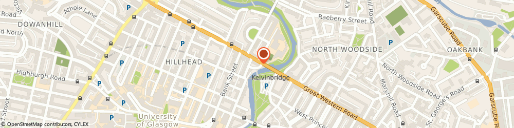 Route/map/directions to Valhalla's Goat, G12 8HH Glasgow, 449 Great Western Rd