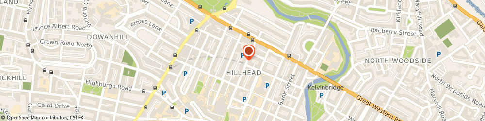 Route/map/directions to Hillview Hotel, G12 8PY Glasgow, 18 HILLHEAD STREET