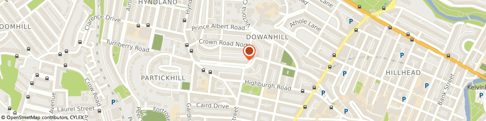 Route/map/directions to Trust Housing Association, G12 9HA Glasgow, Dowanhill