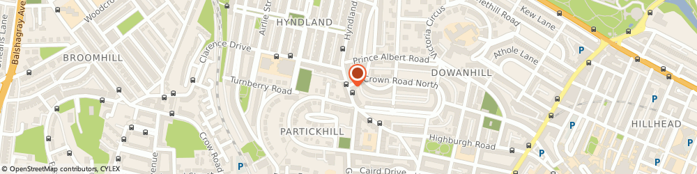 Route/map/directions to Bottoms Up, G12 9JA Glasgow, 159 HYNDLAND ROAD