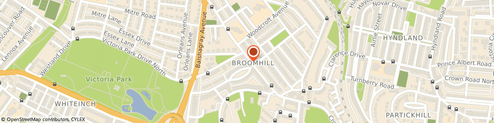 Route/map/directions to Spirito, G11 7BU Glasgow, 317 - 319 Crow Rd, Broomhill