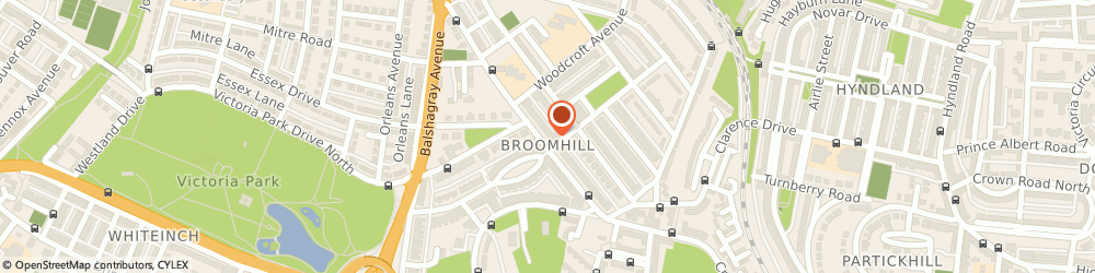 Route/map/directions to J.a Hogarth Ltd, G11 7HS Glasgow, 308 Crow Rd