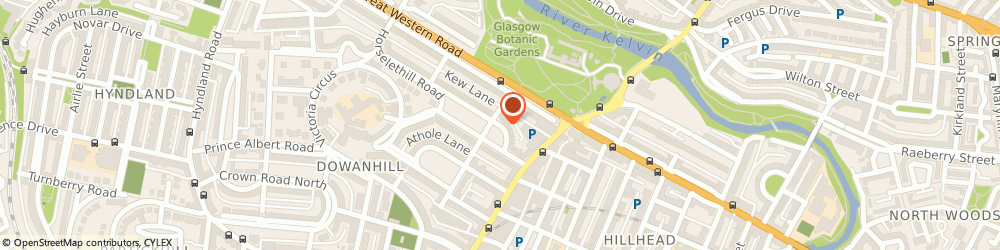 Route/map/directions to Royal Cleans, G12 9AE Glasgow, 4 Grosvenor Crescent