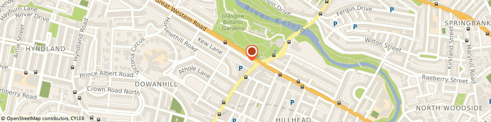 Route/map/directions to The Knowledge Academy, G12 0TA Glasgow, 1-9 Grosvenor Terrace