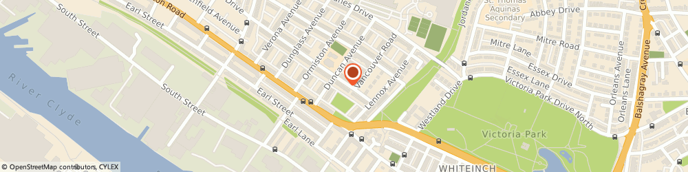 Route/map/directions to Friday Film Productions Ltd, G14 9HE Glasgow, 35 Earlbank Avenue