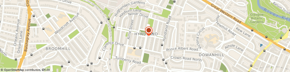 Route/map/directions to Taylormade Marketing Ltd, G12 9PP Glasgow, 20 Queensborough Gardens