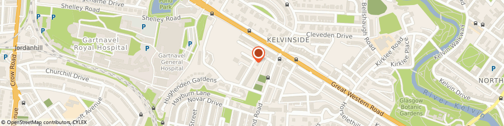 Route/map/directions to Juvo Limited, G12 9XP Glasgow, 19 HUGHENDEN ROAD