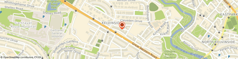 Route/map/directions to Curriculo Solutions Ltd., G12 0RS Glasgow, 6 Lancaster Crescent Lane