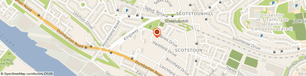 Route/map/directions to Dk Macdonald Joinery Services Ltd, G14 9AJ Glasgow, 108 HAREFIELD DRIVE