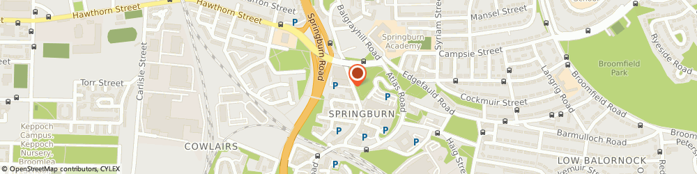 Route/map/directions to Springburn Leisure Centre, G21 1JY Glasgow, 10 KAY STREET