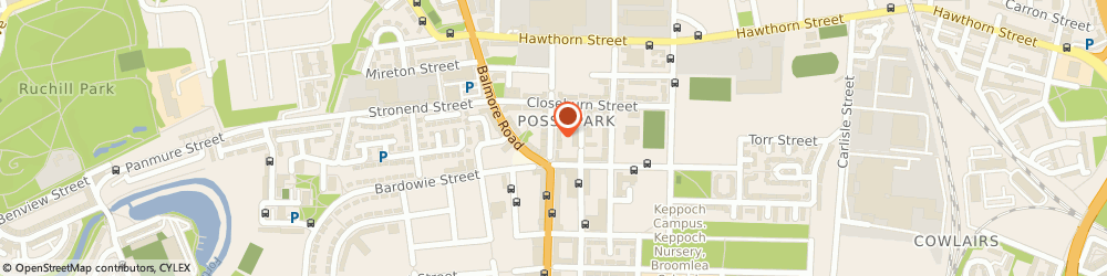 Route/map/directions to M Hanif & Son, G22 5LF Glasgow, 278 Saracen Street