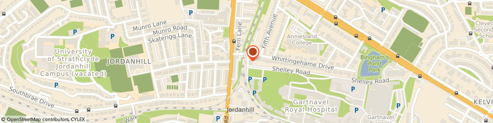 Route/map/directions to Jordanhill Garden Supplies, G12 0XW Glasgow, 425 Shelley Road