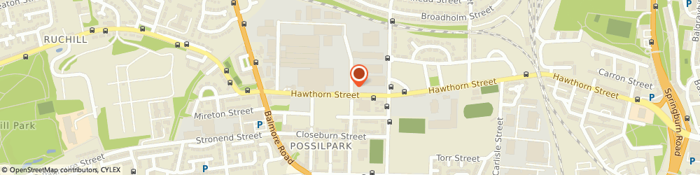 Route/map/directions to Lampcare Recycling Ltd, G22 6DB Glasgow, 400 DENMARK STREET