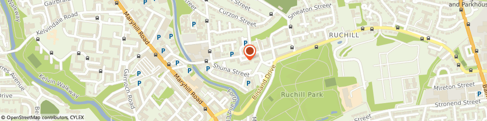 Route/map/directions to Bernard Sims Associates GLASGOW, G20 9PR Glasgow, 4 RUCHILL PLACE