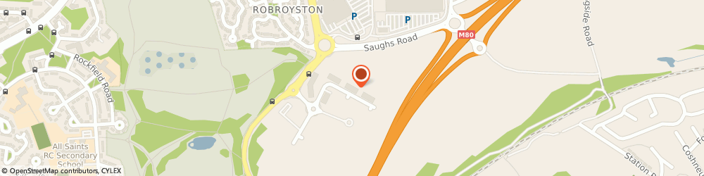 Route/map/directions to Blutest Laboratories Limited, G33 1AP Glasgow, 5 Robroyston Oval, Nova Business Park