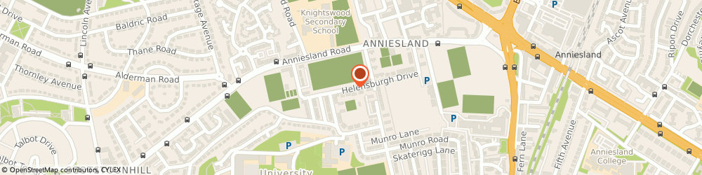 Route/map/directions to Anniesland Bowling & Tennis Club, G13 1XH Glasgow, 101 HELENSBURGH DRIVE