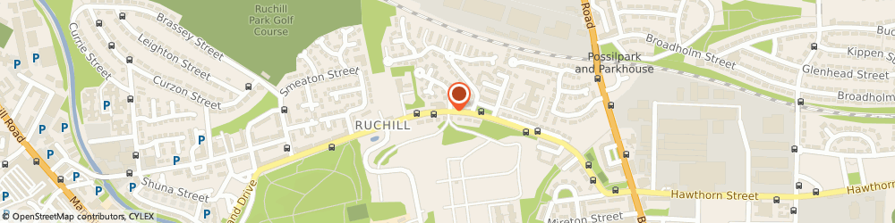 Route/map/directions to Ruchill Youth Project, G20 9NF Glasgow, 671, BILSLAND DRIVE