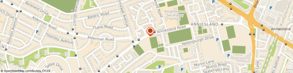 Route/map/directions to Strathclyde Fire Brigade, G13 1XT Glasgow, ANNIESLAND ROAD