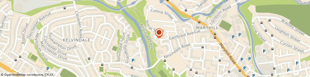 Route/map/directions to D2 Percussion Ltd., G20 8HU Glasgow, 1 GAIRBRAID COURT, MARRYHILL