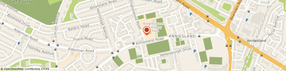 Route/map/directions to Knightswood Secondary School, G13 2XD Glasgow, 60 Knightswood Rd