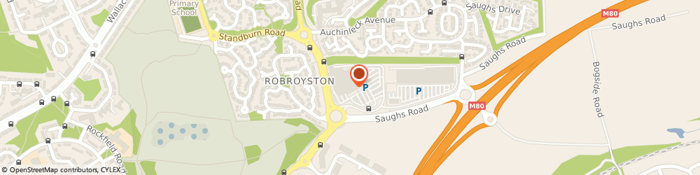 Route/map/directions to Asda Robroyston Superstore, G33 1AD Glasgow, 1 Monument Drive
