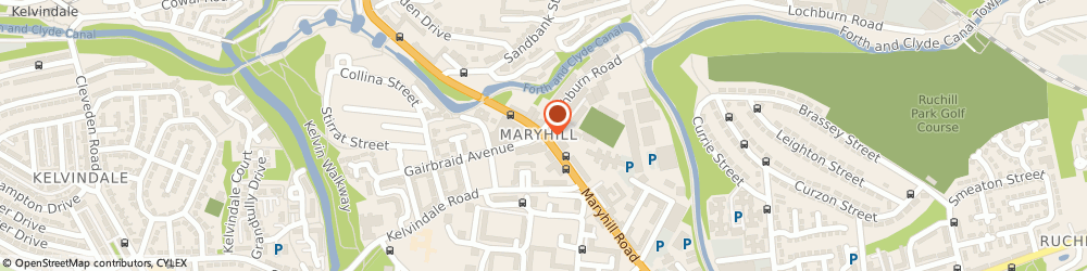 Route/map/directions to Maryhill Jobcentre Plus, G20 9DH Glasgow, 1460-1470 Maryhill Road
