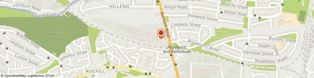Route/map/directions to Mclaren Stone, G22 6NT Glasgow, Parkhouse Business Park, Block 1, 419 Balmore Road