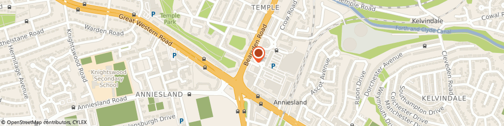 Route/map/directions to GY Computing, G13 1YP Glasgow, 64 Glencoe St