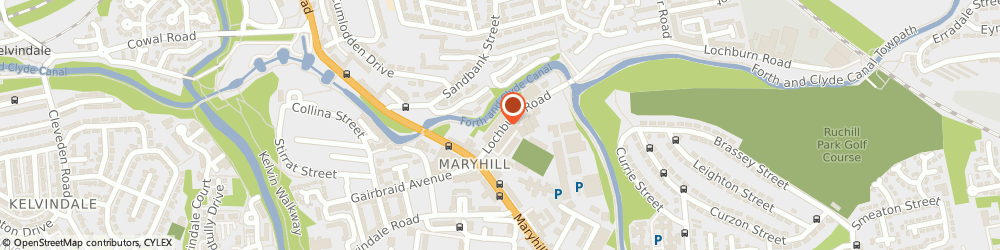 Route/map/directions to Pit Stop Recovery, G20 9AE Glasgow, 37 Lochburn Road