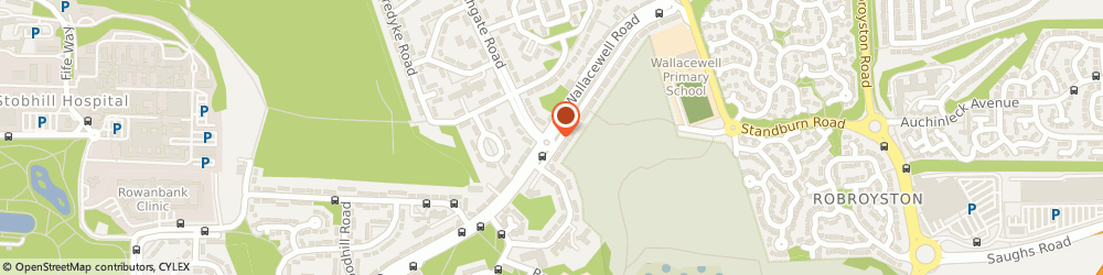 Route/map/directions to Wallacewell Medical Centre, G21 3RW Glasgow, 264 Wallacewell Road