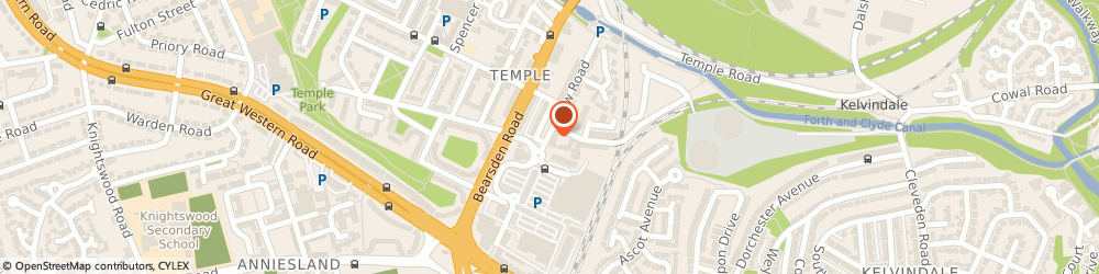 Route/map/directions to Hyacinth House Floristry, G13 1JD Glasgow, 950A Crow Rd