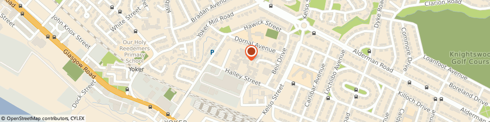 Route/map/directions to Quayside Nursing Home, G13 4DT Glasgow, 250 Halley St