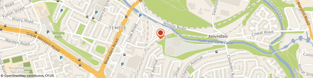 Route/map/directions to Van Cabby, G13 1JQ Glasgow, 142 Strathcona Dr