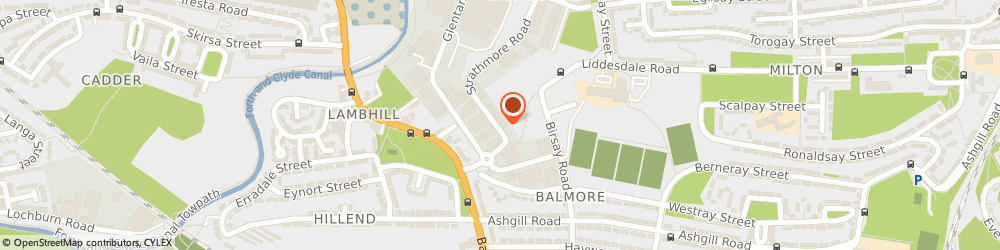 Route/map/directions to James Harkin Electrical Engineers Ltd Glasgow, G22 7DW Glasgow, 40 Strathmore Road