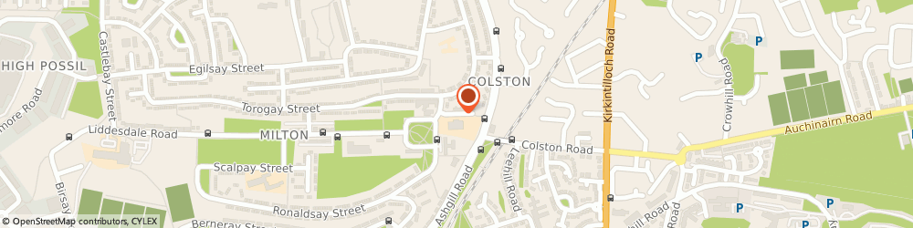 Route/map/directions to Milton Secondary School, G22 7HL Glasgow, 6 LIDDESDALE TERRACE