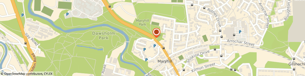 Route/map/directions to Fire, G20 7TY Glasgow, MARYHILL ROAD, MARYHILL