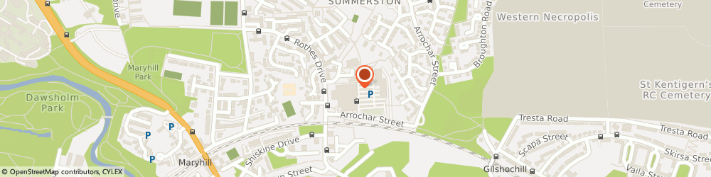 Route/map/directions to Asda Maryhill Superstore, G23 5EZ Glasgow, 20 Rothes Drive