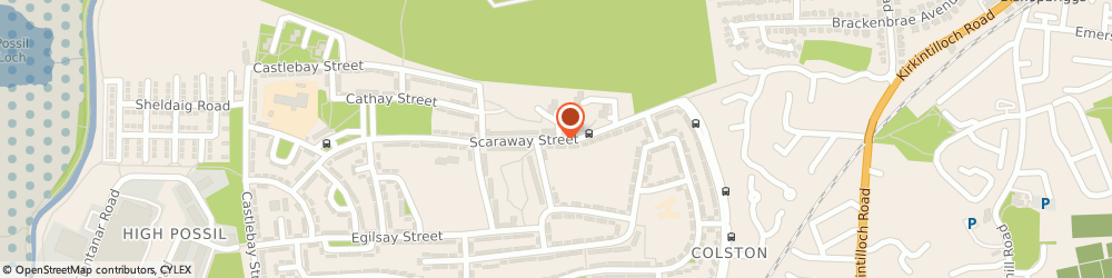 Route/map/directions to Milton Self-Service Store, G22 7EU Glasgow, 147 SCARAWAY STREET