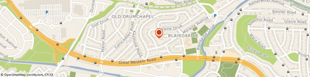 Route/map/directions to Clyde Radio Cars, G15 6HB Glasgow, 6 Moraine Dr