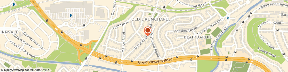 Route/map/directions to Pampered Paws, G15 6UH Glasgow, 43 Garscadden Rd