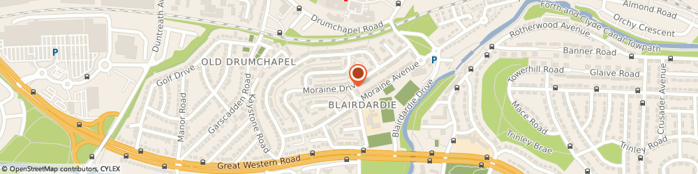 Route/map/directions to Clyde Private Hire Ltd, G15 6HB Glasgow, MORAINE DRIVE