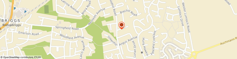 Route/map/directions to Advanced Alarm Systems, G64 1AY Bishopbriggs, 7 FETTERCAIRN GARDENS