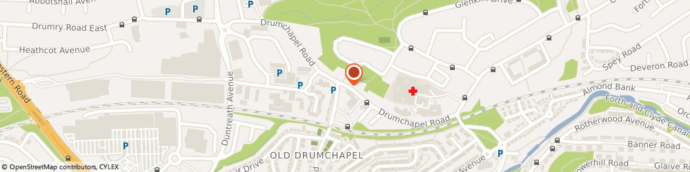 Route/map/directions to C.o.p.e, G15 6QE Glasgow, 20 Drumchapel Road