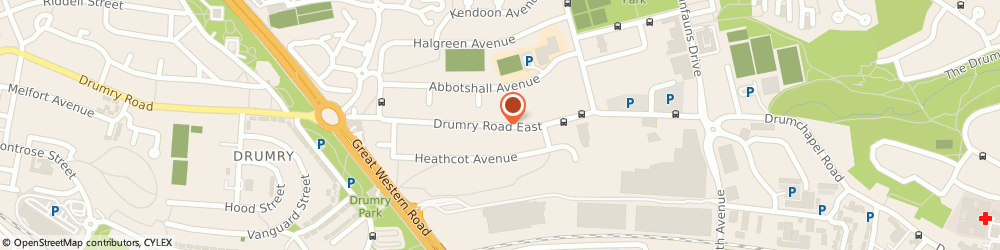 Route/map/directions to Boulevard & Drumry Taxis, G15 8NS Glasgow, 191 Drumry Rd East